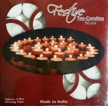 Tealight Candles pack 50
