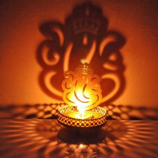 ganeshji candle holder