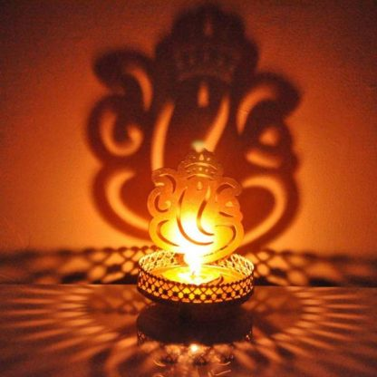 ganeshji candle holder